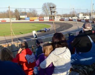 Families enjoy the races - photo: Anietra Hamper