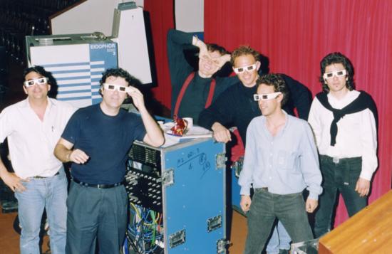 Montxo Algora y ArtFutura 1993