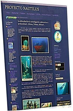 Inicio del Blog principal del Proyecto 'Nautilus'