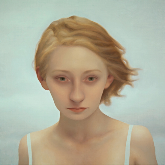 "►LU CONG◄ Alayna #1, Oil on Panel, 24"" x 24"". Gallery Henoch, New York, NY."