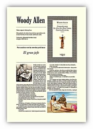 Woody Allen: 'Cómo acabar de una vez por todas con la cultura'