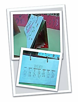 Reciclaron los cartones de leche, fabricando Calendarios de Mesa