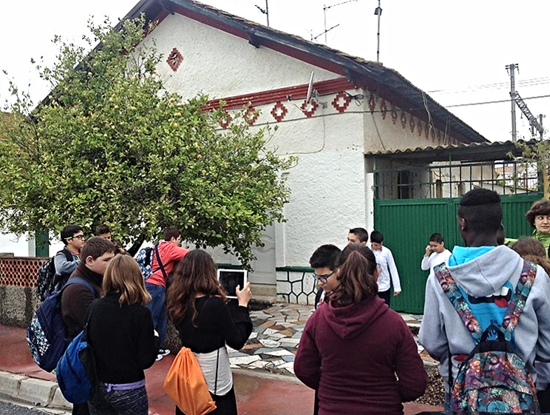 Paseo por la Estación de Cártama, siglo XX