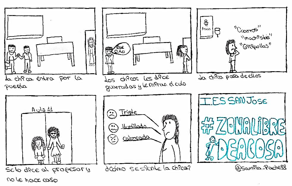En el enlace inferior se pueden contemplar más ejemplos de las viñetas realizadas por los estudiantes