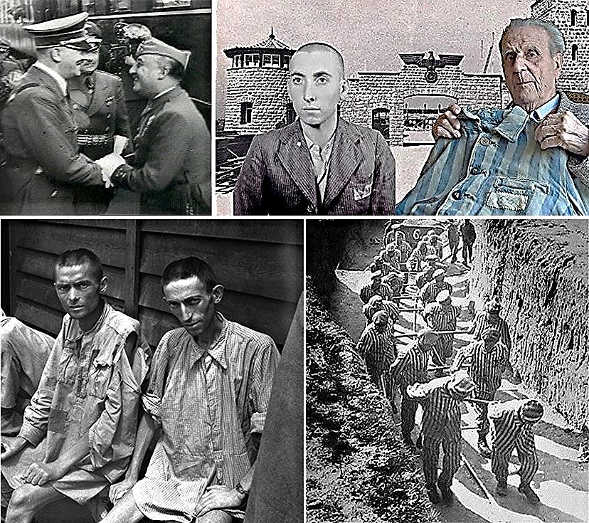 Imágenes procedentes de la Comunidad en Facebook: Los últimos españoles de Mauthausen y del Portal deportados (Carlos Hernández y Concha Esquinas)