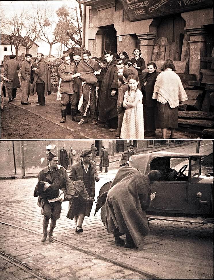 Archivo fotográfico del Muséu del Pueblu d'Asturies  Fotos incorporadas a la Galería del Proyecto didáctico 'En píe de guerra ¿Periodista o escritor?'