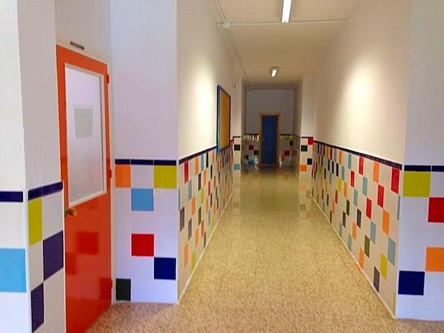 Es emocionante ver que nuestro pasillo parece el doble de grande y de luminoso