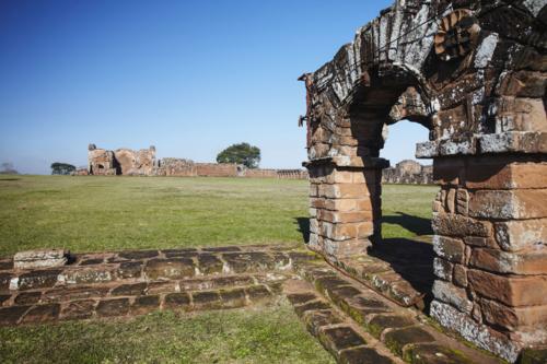 Ruinas de una misión jesuita en Trinidad (Paraguay), Patrimonio mundial