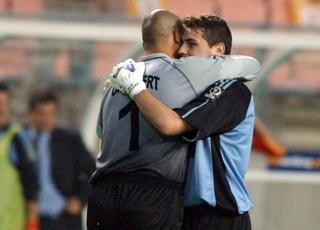Chilavert y Casillas