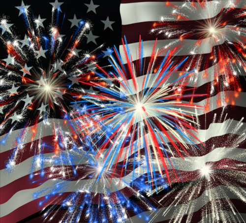 Independence Day in Manhattan