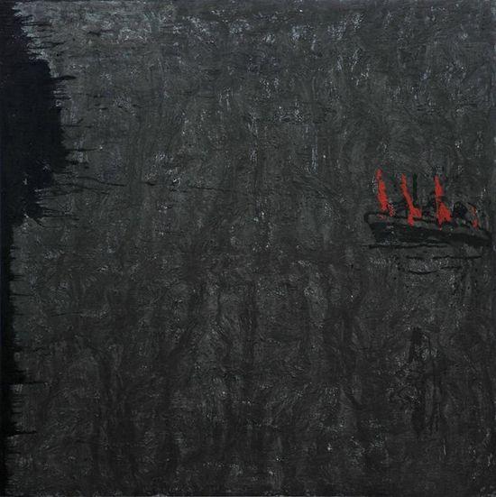 PATIÑO Costa da Morte. 1989. Pintura. 300x300 cm. 1