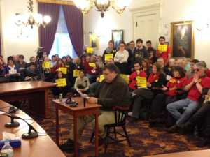 Paid sick leave hearing 1.30.14