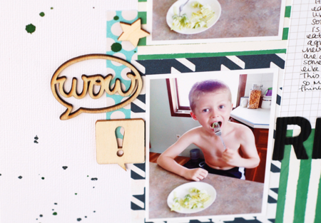 made by Valerie O'Neall for Write. Click. Scrapbook