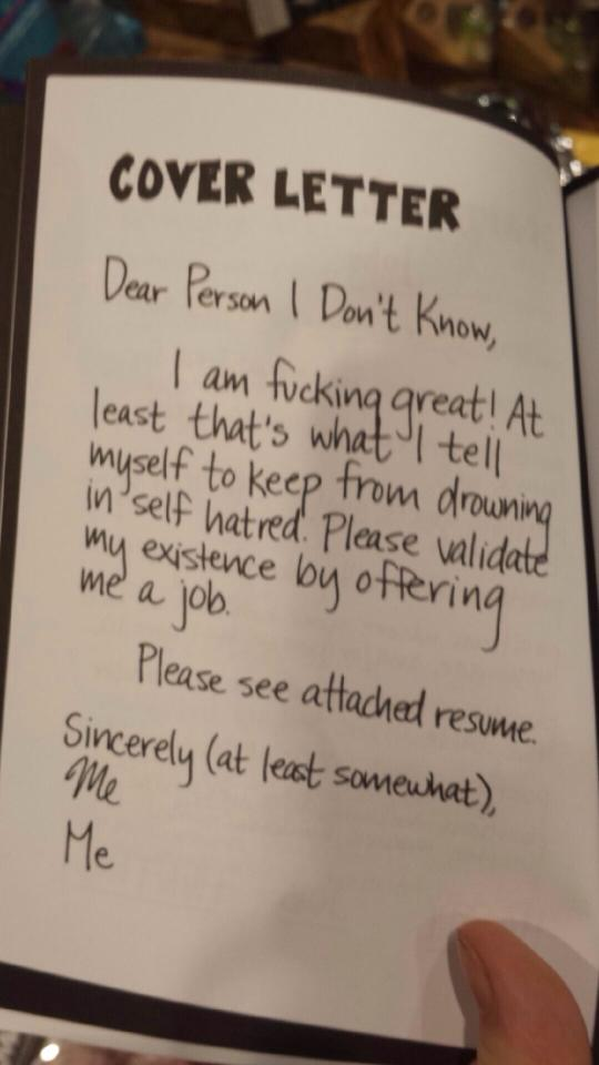 Cover Letter Win Or Fail?