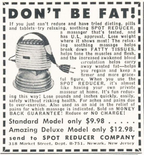 Dont be fat
