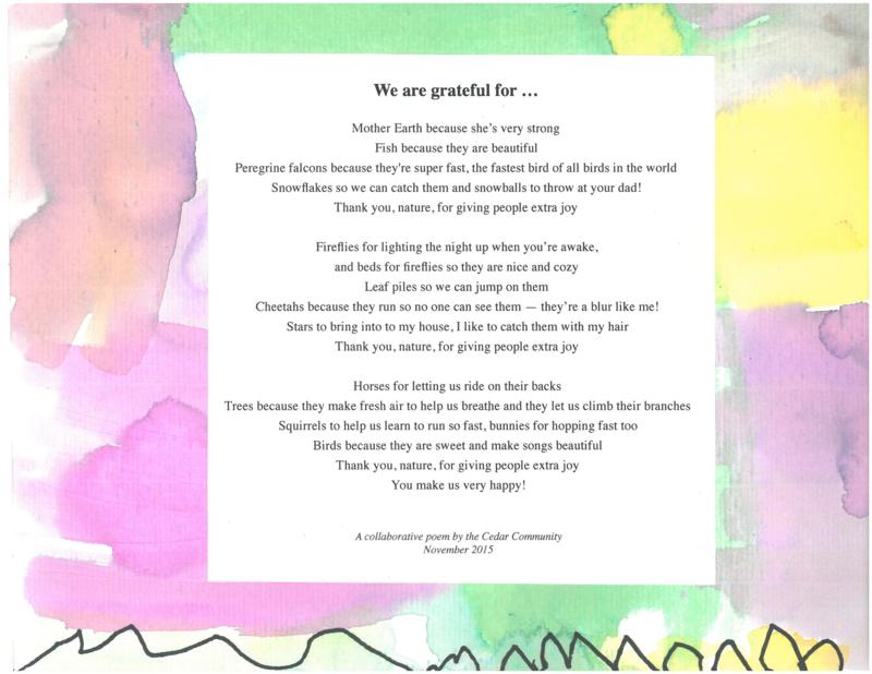 Cedar - Grateful - 2015
