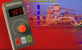 The Perception Analyzer is the go-to tool for in-person dial testing