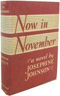 Now in November von Josephine Johnson