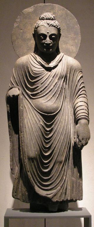 Buddha statue from Takht-i-Bahi