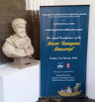 The statue of Jamsetji Tata fittingly presides over the launch.