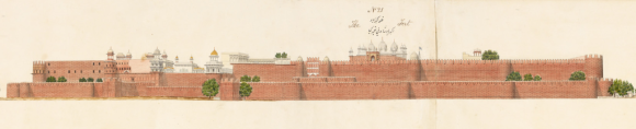 The Agra Fort, Agra artist, c. 1830