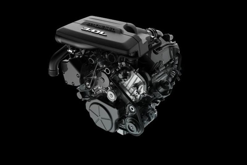 Ram 3.0-Liter EcoDiesel Engine