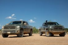 At Their Highest Levels, Toyota's Off-Road Trucks Perform Very Differently