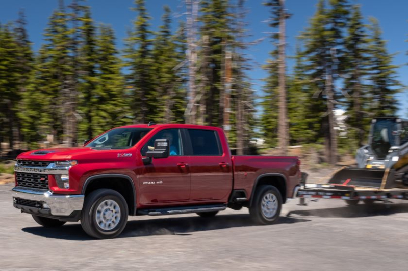 2020 Chevrolet Silverado 2500 Exterior