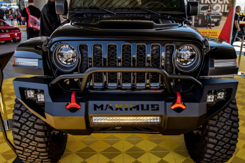 Jeep Gladiator Hennessey Maximus 1000 Grille Closeup