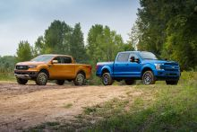 Ford Takes Ranger and F-150 Up a Notch With Accessory Suspension Lift