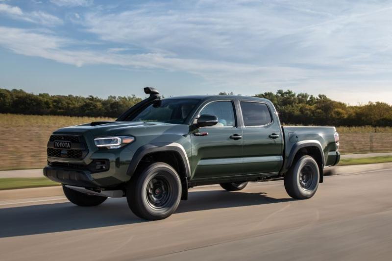 2020 Toyota Tacoma TRD Pro Front Angle