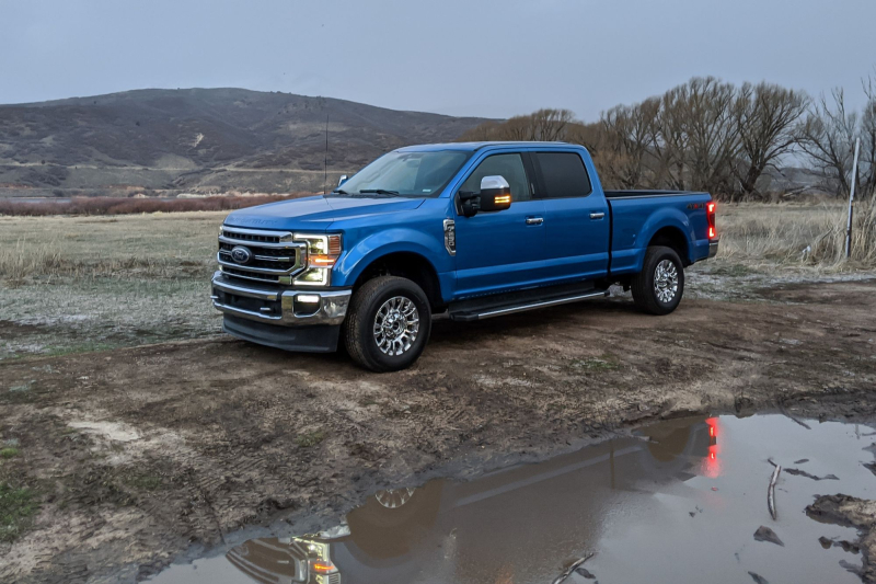 2020 Ford F-250 Side Profile