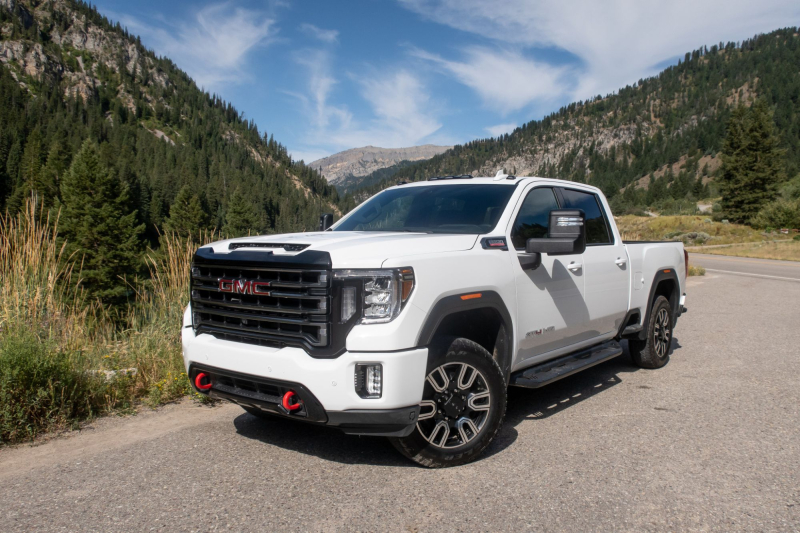 2020 GMC Sierra 2500 AT4 Front Angle Profile