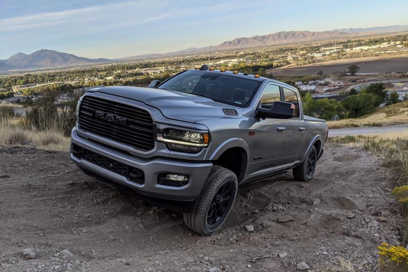 2020 Ram 2500 Laramie Side Profile