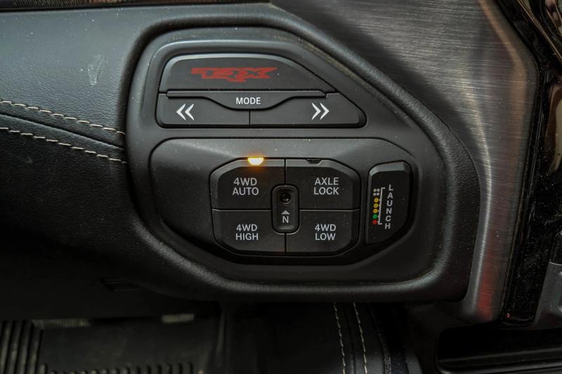 2021 Ram 1500 TRX All-Wheel-Drive Controls