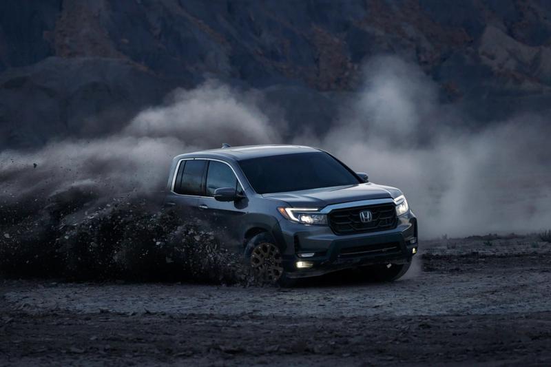 2021 Honda Ridgeline Throwing Up Mud