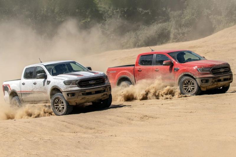 2021 Ford Ranger Tremor XLT and Lariat