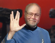 John Hall as Spock