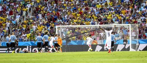 Uruguay and Costa Rica FIFA World Cup 2014