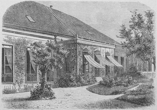 Jardín de Villa Hügel en Hietzing