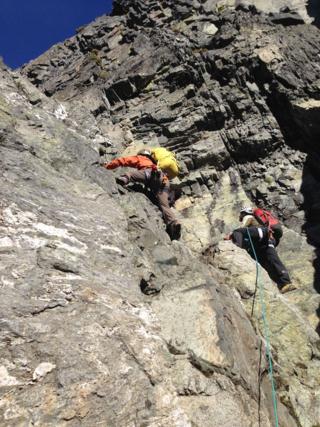 Kurt and Josh on the Ascent