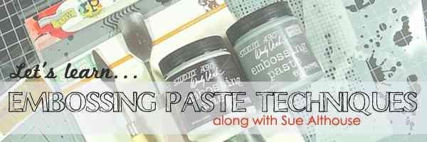 Embossing Paste Header