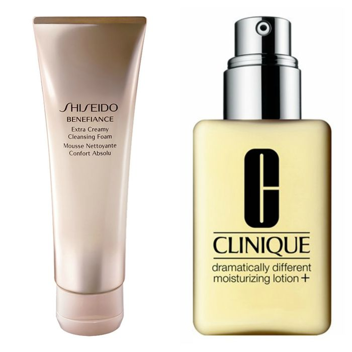 shiseido-clinique-morning-routine