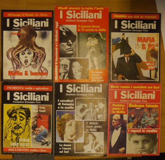 Siciliani covers