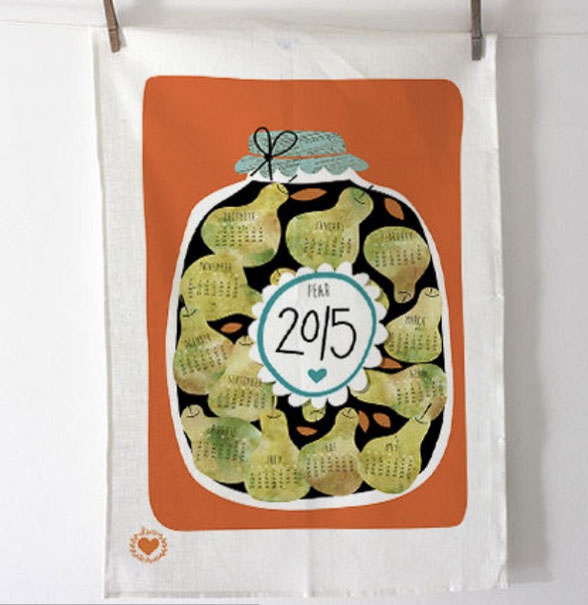 Tea towel by LauraTheDrawer