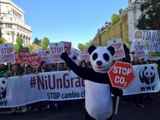 (C) WWF Marcha por el Clima en Madrid 2015