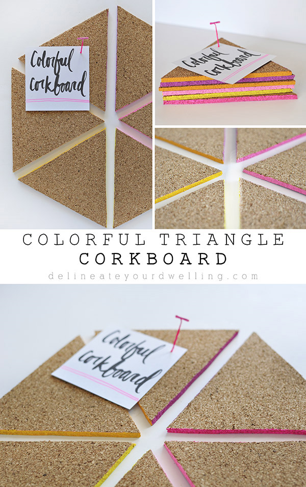Colorful-Triangle-Corkboard