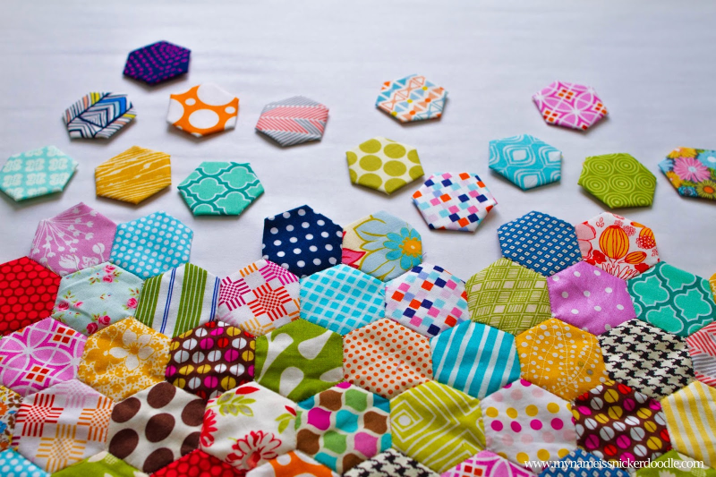 Hand-Sewn-Hexagon-Fabric-Quilt-2 copy