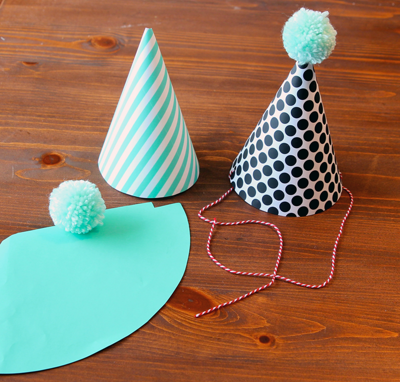 Custom party hats