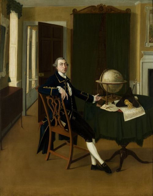 Alexander Dalrymple, in a painting of c.1765 attributed to John Thomas Seton (c.1735-1806). Copyright National Museums of Scotland.